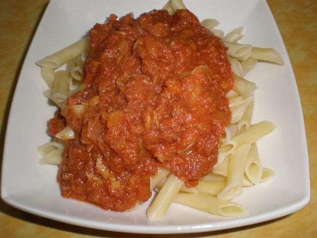 piejg - ▷ Macarrones con carne enlatada