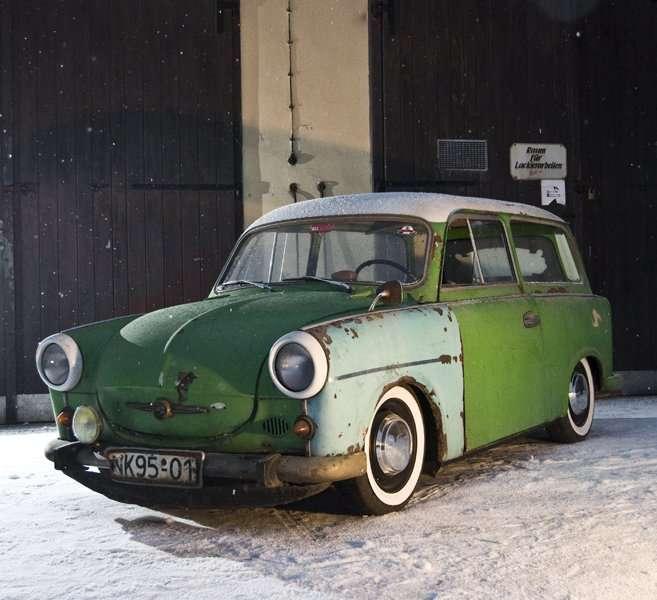 POWER CARS: Trabant 500 Rat Look