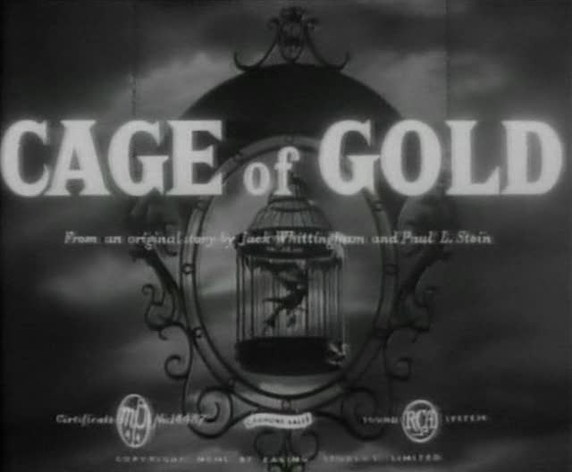 Cage Of Gold 1950 Review