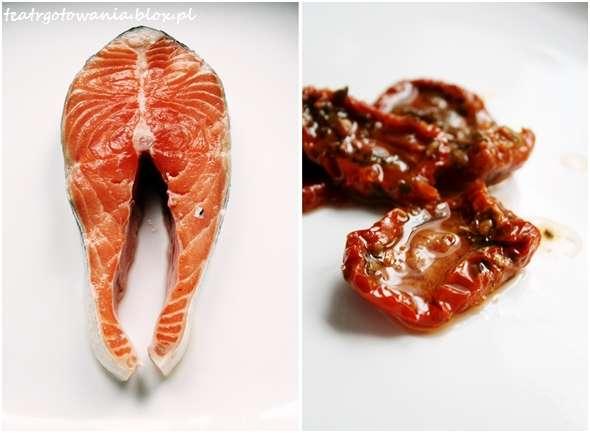 losos + pomidory